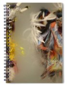 Pow Wow Beauty Of The Dance 1 Spiral Notebook
