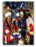Pow Wow Beauty Of The Past 5 Spiral Notebook