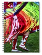Pow Wow Beauty Of The Past 9 Spiral Notebook