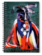 Pow-wow Colors Spiral Notebook