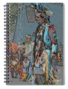 Pow Wow Competition Spiral Notebook