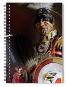 Pow Wow Portrait Of A Proud Man 2 Spiral Notebook