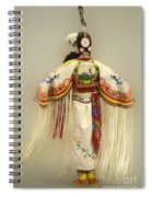 Pow Wow Traditional Dancer 3 Spiral Notebook