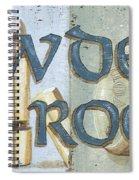 Powder Room Spiral Notebook