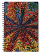 Power Flower Spiral Notebook