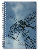 Power Grid Spiral Notebook