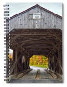 Power House Covered Bridge Spiral Notebook