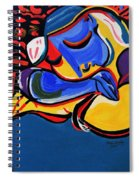 Power Nap  Picasso By Nora Spiral Notebook