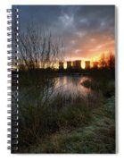 Power Plant Sunrise 1.0 Spiral Notebook