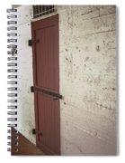Power Room - Fort Desoto Florida Spiral Notebook