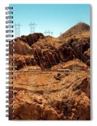Power Transport From Hoover Dam Spiral Notebook