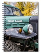 Power Wagon Spiral Notebook
