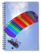 Powered Parasailing 1 Spiral Notebook