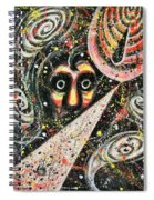 Powered Visions Of Mortal Spiral Notebook