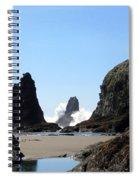 Powerful Sea Spiral Notebook