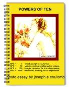 Powers Of Ten In Yellow Spiral Notebook