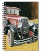 Praga Alfa Spiral Notebook