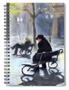Prague Autumn Ray Spiral Notebook