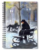 Prague Autumn Ray Spiral Notebook