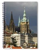 Prague Castle Complex Spiral Notebook