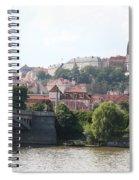 Prague Castle Spiral Notebook