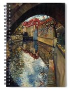 Prague Chertovka 3 Spiral Notebook