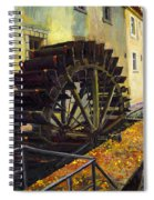 Prague Chertovka Spiral Notebook
