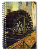 Prague Chertovka Spiral Notebook