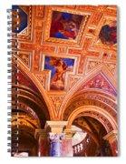 Prague Church Ceiling Spiral Notebook