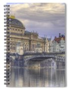 Prague, Czech Republic Spiral Notebook