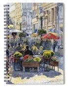 Prague Mustek First Heat Spiral Notebook