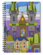 Prague Panorama Spiral Notebook