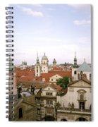 Prague Twilight Spiral Notebook