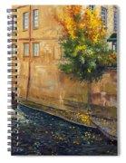 Prague Venice Chertovka 2 Spiral Notebook