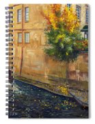 Prague Venice Chertovka 2 Spiral Notebook