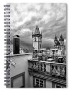 Prague View From The Top Spiral Notebook