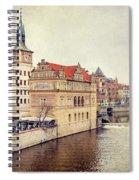 Prague View Spiral Notebook