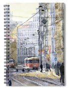 Prague Vodickova Str Spiral Notebook