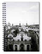 Mysterious Prague Spiral Notebook