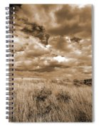 Prairie And Sky Spiral Notebook