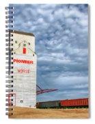 Prairie Cathedral In Morse Saskatchewan   Spiral Notebook