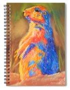 Prairie Dog 1 Spiral Notebook