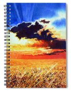 Prairie Gold Spiral Notebook
