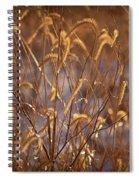 Prairie Grass Blades Spiral Notebook