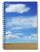Prairie Landscape Alberta Canada Spiral Notebook