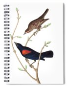Prairie Starling Spiral Notebook