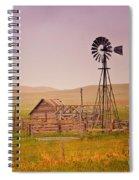 Prairie Windmill Spiral Notebook