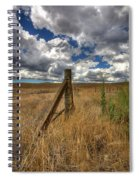 Prarie Sky Spiral Notebook