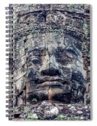 Prasat Bayon Stone Face  Spiral Notebook