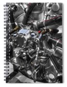 Pratt And Whitney  Engine Aeronautics Spiral Notebook